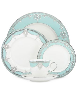 Empire Pearl Turquoise Bone China 5-Pc. Place Setting