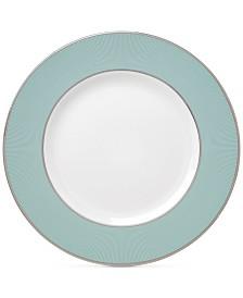 Brian Gluckstein by Lenox Clara Aqua  Bone China Dinner Plate