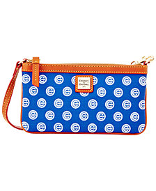 Dooney & Bourke Chicago Cubs Large Slim Wristlet