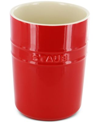 Staub Cherry Ceramic Utensil Holder