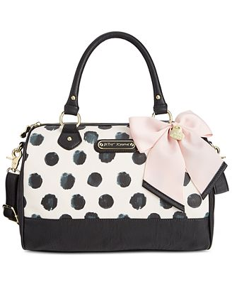Betsey Johnson Dot Satchel