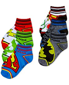 Justice League Sock Set, 6-Pk., Little Boys & Big Boys