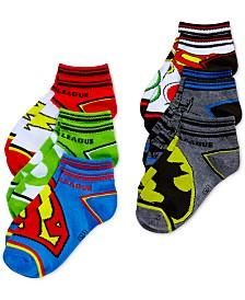 Justice League Sock Set, 6-Pk., Little Boys & Big Boys