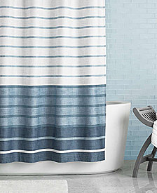 "CLOSEOUT! Hotel Collection Colonnade 72"" x 72"" Shower Curtain"