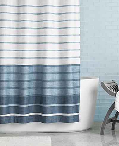 dark teal shower curtain. Hotel Collection Colonnade 72  x Shower Curtain