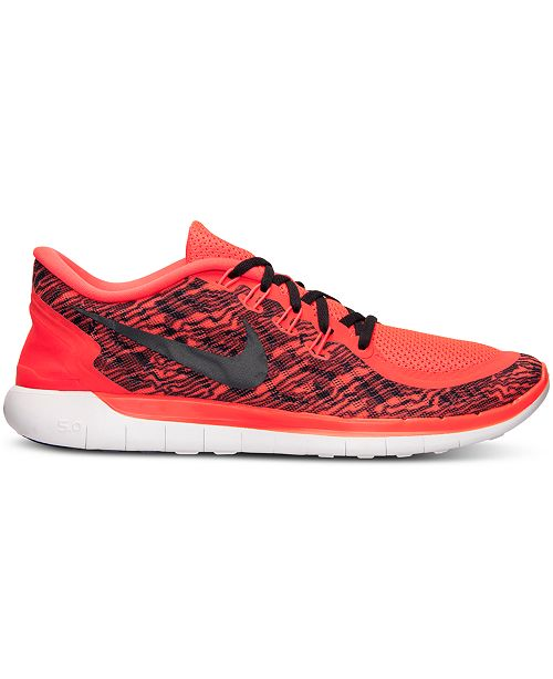 719fa36da5a4 Nike. Men s Free 5.0 Print Running Sneakers from Finish Line. 8 reviews.  main image  main image  main image ...