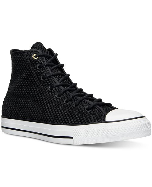 Converse Men's Chuck Taylor All Star Hi Amp Cloth Casual Sneakers