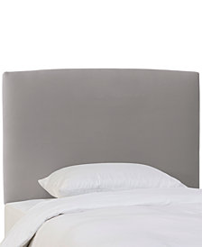Gina Full Upholstered Headboard, Quick Ship