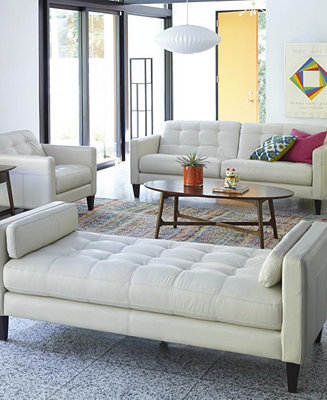 Milan Leather Sofa Living Room Furniture Collection Furniture Macy 39 S