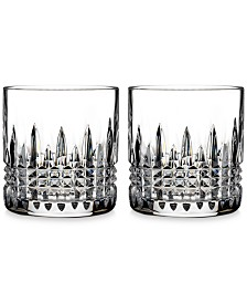 Waterford Crystal Lismore Diamond Straight-Sided Tumblers, Set of 2