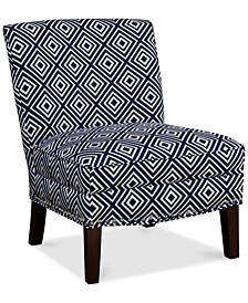 Coryn Fabric Accent Chair, Quick Ship