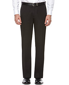 Perry Ellis Portfolio Flat Front Modern Fit Melange Pants