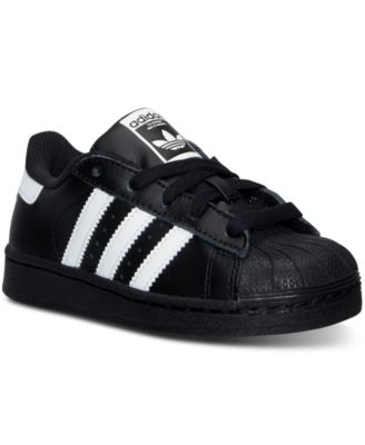 Image of adidas Little Boys' Superstar Casual Sneakers from Finish Line