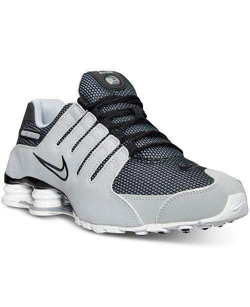 new style 8e30c ec080 ... Nike Men s Shox NZ SL Running Sneakers from Finish Line ...