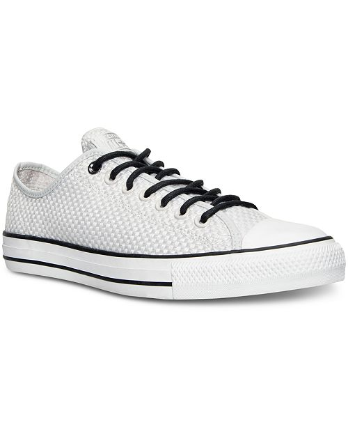 787e386ccdeb ... Converse Men s Chuck Taylor All Star Ox Amp Cloth Casual Sneakers ...
