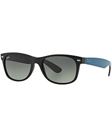 Ray-Ban NEW WAYFARER GRADIENT Sunglasses, RB2132 52