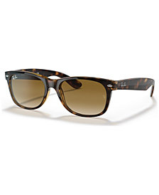 Ray-Ban NEW WAYFARER Sunglasses, RB2132 52