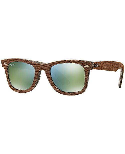 Ray-Ban Sunglasses, RB2140 ORIGINAL WAYFARER DENIM