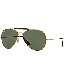 Sunglasses, RB3029 OUTDOORSMAN II