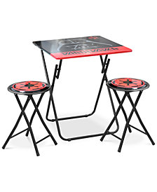 Star Wars Darth Vader Folding Table & Chair Set, Quick Ship