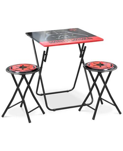 Star Wars Darth Vader Folding Table & Chair Set, Quick Ship
