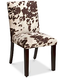 Prescod Dining Chair- Udder Madness, Quick Ship
