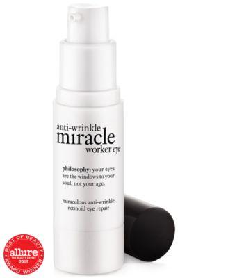 miracle worker miraculous anti-aging retinoid eye repair cream