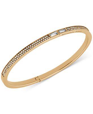 michael kors pav 233 hinge bracelet jewelry
