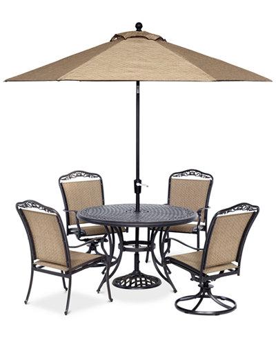 Beachmont II Outdoor 5 Pc. Dining Set (48