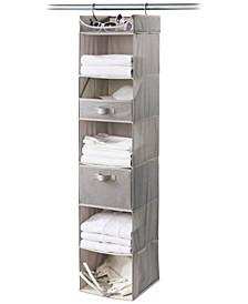 Harmony Twill 6-Shelf Closet Organizer