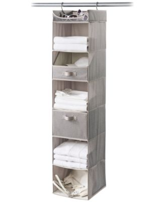 Ordinaire Neatfreak Harmony Twill 6 Shelf Closet Organizer
