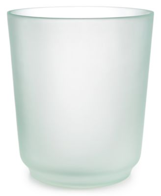 ... Bathroom Accessories. CLOSEOUT! Martha Stewart Collection Sea Glass  Frost Wastebasket, Created For Macyu0027s