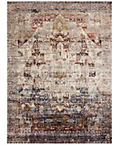 Macy's Fine Rug Gallery Andreas AF-08 Slate/Multi Area Rugs