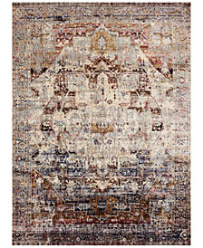 "Macy's Fine Rug Gallery Andreas   AF-08 Slate/Multi 2'7"" x 4' Area Rug"