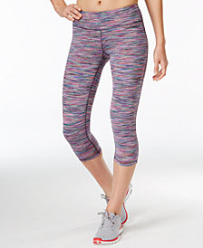 Ideology Spring Space-Dyed Cropped Leggings, Created for Macy's