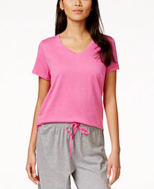 HUE® Solid Short Sleeve Sleep Tee