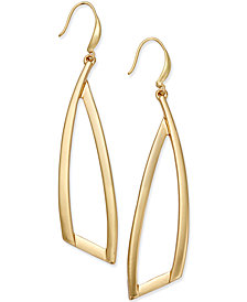 I.N.C. Triangle Drop Earrings, Created for Macy's