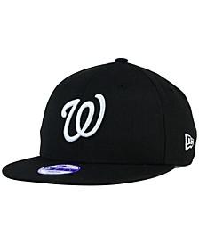 Kids' Washington Nationals B-Dub 9FIFTY Snapback Cap