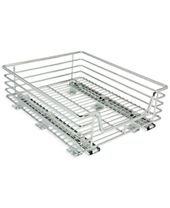 Household Essentials Chrome Glidez Sliding Under-Cabinet Organizer