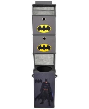 Modern Littles Batman Closet Hanging Organizer with 2 Storage Bins
