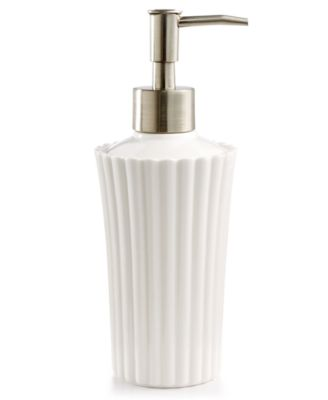 Martha Stewart Collection Ceramic Scallop Lotion Dispenser, Created For  Macyu0027s
