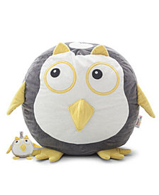 Oscar the Owl Bean Bag with Toy, Quick Ship