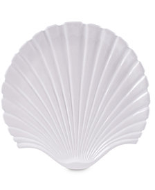 Fitz and Floyd Cape Coral Collection Shell Platter
