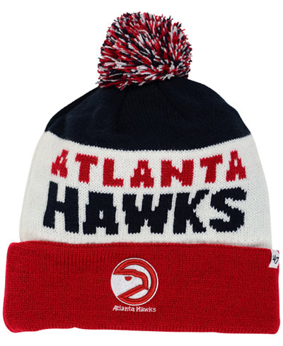 '47 Brand Atlanta Hawks Crossblock Knit Hat