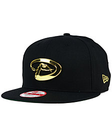 New Era Arizona Diamondbacks League O'Gold 9FIFTY Snapback Cap