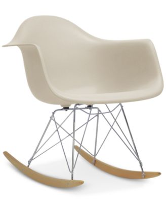 caden midcentury modern rocking chair quick ship