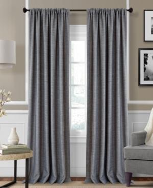 "Elrene Pennington Textured Solid Pair of 52"" x 95"" Panel Bed"