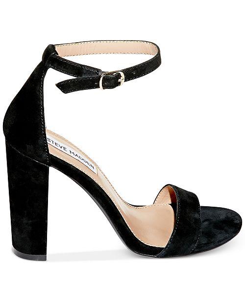 Steve daim en deux pièces noir Madden Sandales chaussures Carrson avis en et Tongs VSzpqUM