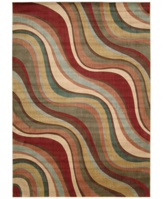 "CLOSEOUT! Somerset Wave 7'9"" x 10'10"" Area Rug"