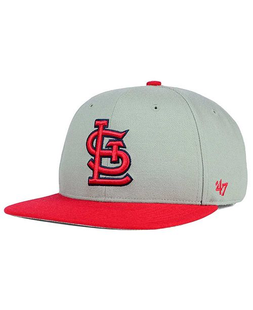 pretty nice 36bc3 2ca5e ...  47 Brand St. Louis Cardinals Sure Shot Snapback Cap    ...